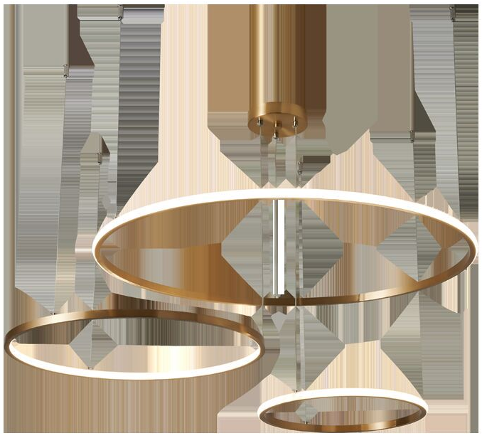 Siêu lòng với 8 mẫu đèn led trang trí phòng ăn