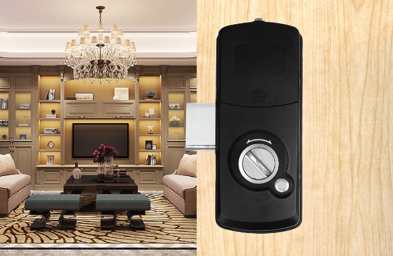 Những mẫu khóa vân tay cửa nhôm nhỏ gọn và an toàn