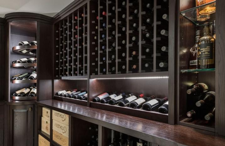 Thiết kế tủ rượu âm tường lựa chọn hoàn hảo cho ngôi nhà hiện đại